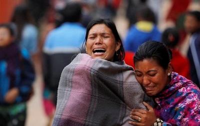 Кількість загиблих після землетрусу в Непалі досягла 3218 осіб