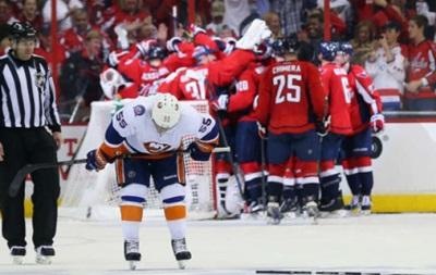 NHL: Вашингтон выигрывает серию, Детройт и Тампа сыграют седьмой матч