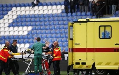Во время матча чемпионата Бельгии у футболиста остановилось сердце