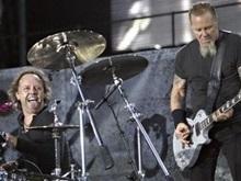 В интернете можно следить за записью нового альбома Metallica