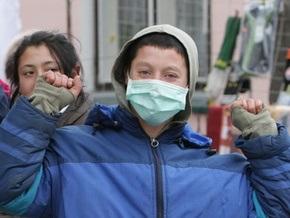 На Прикарпатье половина госпитализированных с гриппом уже выписаны из больниц