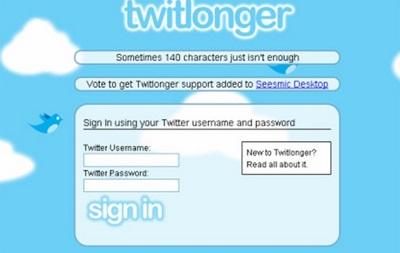 В Росії заборонили сайт TwitLonger