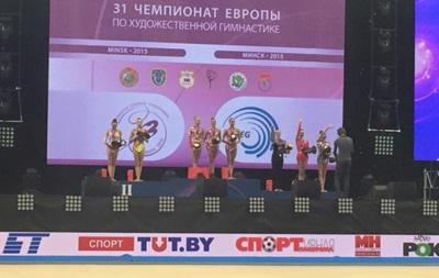 Украинские гимнастки взяли бронзу на чемпионате Европы