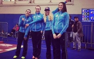 Сборная Украины по фехтованию завоевала серебро на этапе Кубка мира в Китае