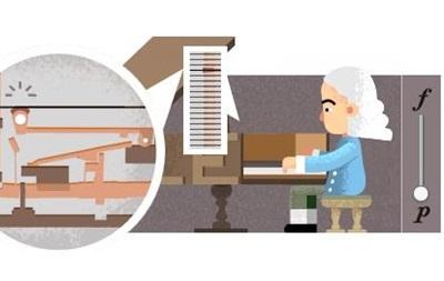 Google отмечает дудлом день рождения изобретателя фортепиано