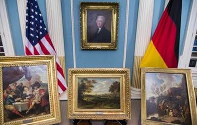 США вернули Германии картины, нелегально вывезенные во Вторую мировую войну