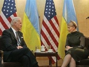 Тимошенко встретилась с вице-президентом США