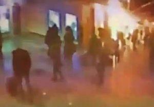 В интернете появилось видео момента взрыва в Домодедово