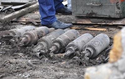 В 2015 году в зоне АТО обезвредили более тысячи взрывоопасных предметов