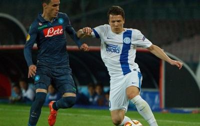 Сразу четыре игрока Днепра вошли в сборную Лиги Европы
