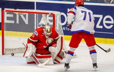 ЧС з хокею: Росія крупно обіграла Білорусію