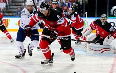 ЧМ по хоккею: Канада обеспечила себе выход в плей-офф