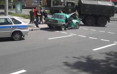 В Донецке в столкновении грузовика сепаратистов и Жигулей погибли люди -СМИ