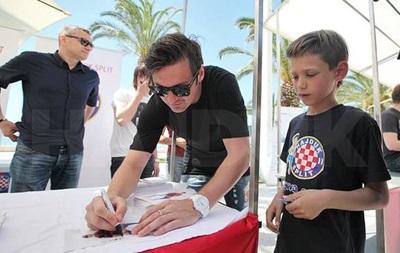 Милевский не доиграл матч чемпионата Хорватии из-за травмы