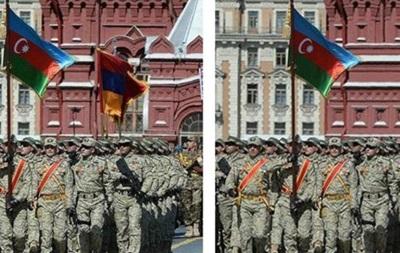 Баку видалив фото Вірменії з параду в Москві