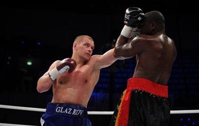 Украинец Глазков проведет еще один бой перед встречей с Кличко