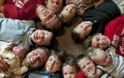 Сім'я зі США народила 13 синів поспіль