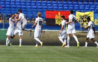 Волынь обыграла Говерлу в матче чемпионата Украины