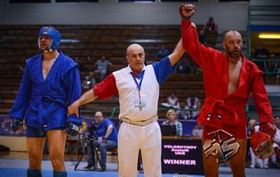 Українські самбісти завоювали 19 медалей на чемпіонаті Європи