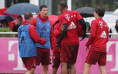 Игроки Баварии устроили разборки на тренировке