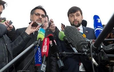 Лідерів сепаратистів не буде на зустрічі з контактною групою в Мінську - ЗМ