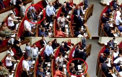 Организатора Майдана Пашинского уличили в  кнопкодавстве