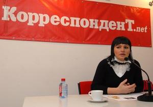 Кильчицкая заявила, что баллоны с кислородом в киевских больницах безопасны