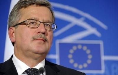Коморовський визнав поразку на виборах президента Польщі