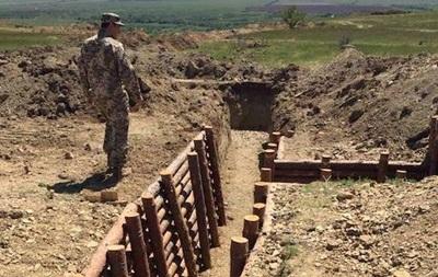 Киевская область завершает сооружение линии обороны в Донбассе