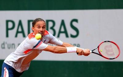 Roland Garros: Долгополов вилітає з турніру після першого матчу