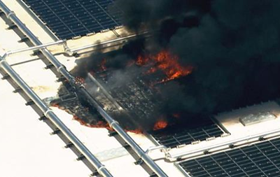 Завод Apple загорелся в Аризоне