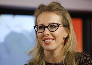 Ксения Собчак выдвинула свою кандидатуру  в координационный совет российской оппозиции