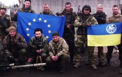 За Украину. Аллаху Акбар! Чеченцы сняли видео об участии в АТО