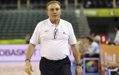 Фрателло залишає посаду головного тренера збірної України з баскетболу