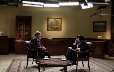 Рік Порошенка : Президент дав інтерв ю за підсумками року