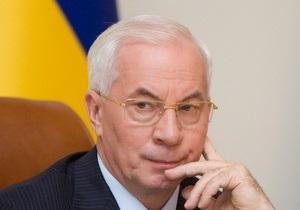 Азаров: Кабмин не планирует снова повышать цены на газ