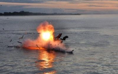 Под Мариуполем на взрывчатке подорвался рыбак
