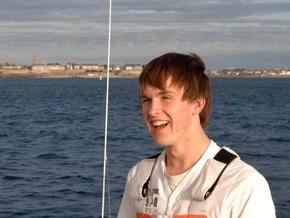 16-летний яхтсмен начал кругосветное путешествие