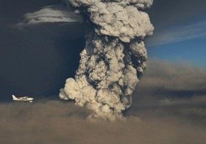Облако пепла с исландского вулкана может нарушить график авиадвижения в Украине