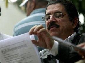 Свергнутый президент Гондурасa угрожает разорвать достигнутое соглашение