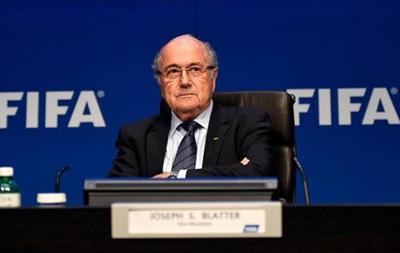 Блаттер має намір провести адміністративну реформу FIFA перед своїм відходом