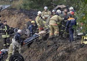 Опознан первый погибший в авиакатастрофе под Ярославлем