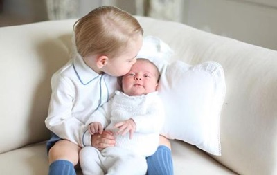 Появились первые фото принцессы Кембриджской с братом