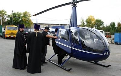 Священники облетят на вертолете Николаевщину и помолятся за мир