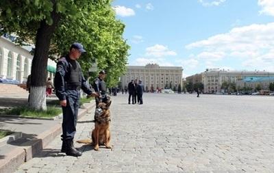 На площади в центре Харькова найдена граната