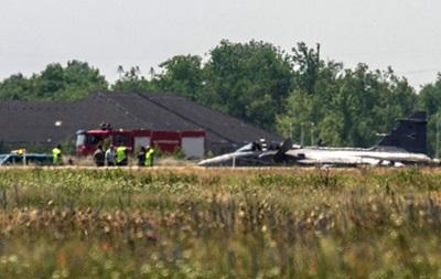 В Венгрии упал реактивный истребитель
