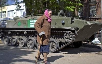 В Авдеевке задержали пенсионерку-командира сепаратистов и ее внучку