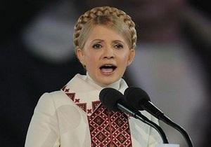 Тимошенко отреагировала на заявление Януковича о двух государственных языках