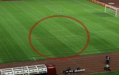 Свастика на поле в Хорватии была нанесена за два дня до матча с Италией