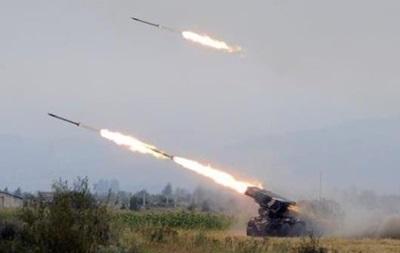 Обстрелы Градом на Луганщине и бои в Донецке. Карта АТО на 14 июня